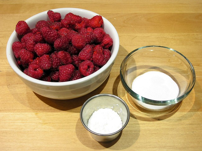 Raspberry Sauce Ingredients