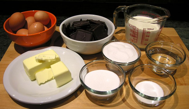 Chocolate Decadence ingredients
