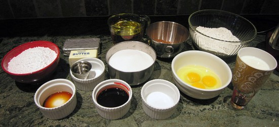Red Velvet Cupcake Ingredients