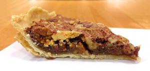 Triple Chocolate Chunk Pecan Pie