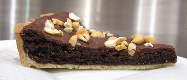 Chocolate Cashew Tart