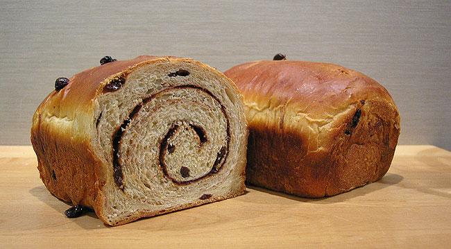Raisin Cinnamon Bread