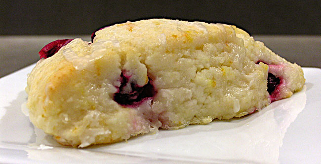Cranberry Orange Scone Gluten Free