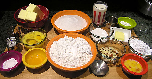 Basque Cake Ingredients