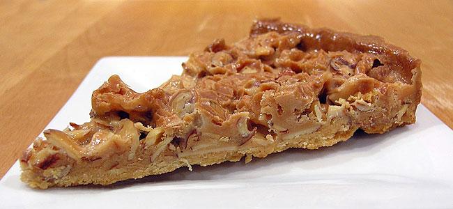 Caramel Toffee Almond Tart | Jeff's Baking Blog
