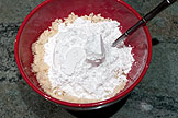 Add the powdered sugar