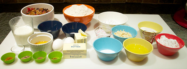 Dresdner Stollen Ingredients