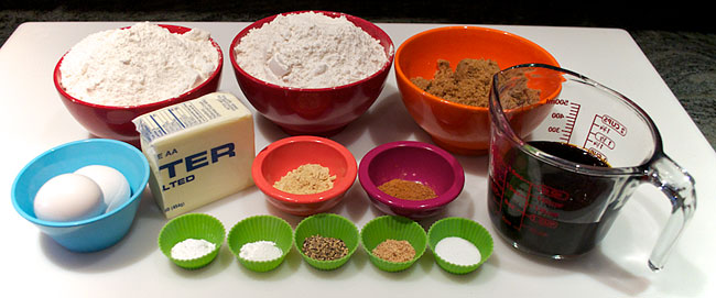 Gingerbread Cookies Ingredients