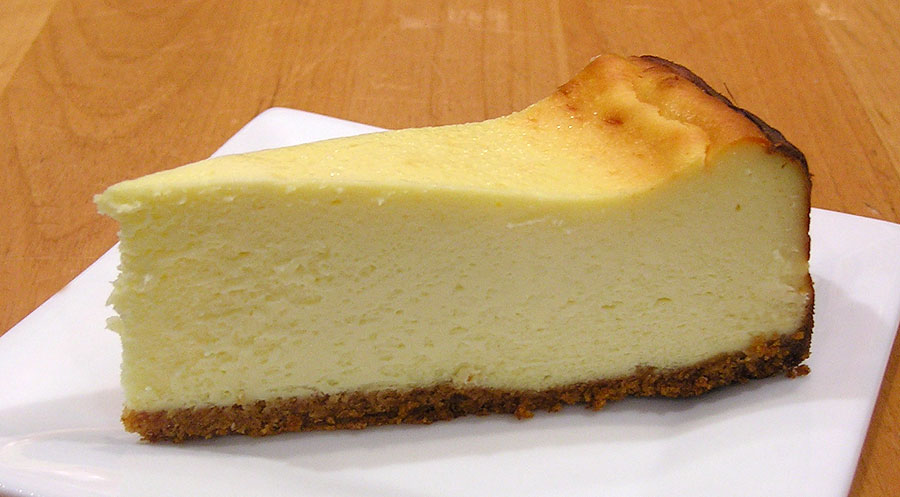 New York Style Cheesecake (Gluten-free) | Jeff's Baking Blog