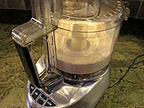 Process the flour, salt, and sugar in a food processor until combined