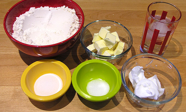 Pre-baked Pie Shell Ingredients