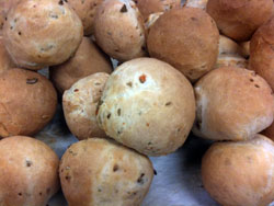 Fennel Seed-Spanish Olive Bread